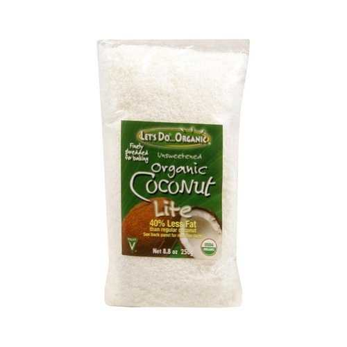 Let's Do...Organics Lite Shredded Coconut ( 12x8.8 Oz)