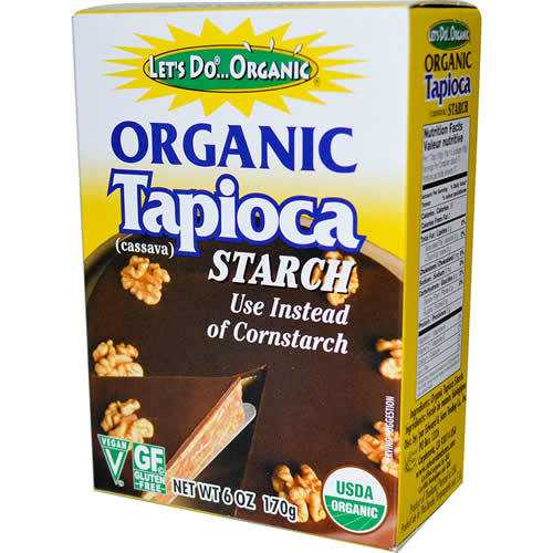 Let's Do...Organics Tapioca Starch ( 6x6 Oz)