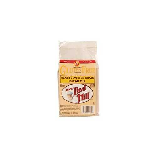 Bob's Red Mill Hearty Whole Grain Bread Mix G/Free (4x20 Oz)