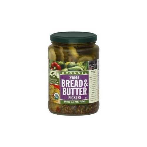 Woodstock Bread & Butter Sweet Pickles (6x24 Oz)