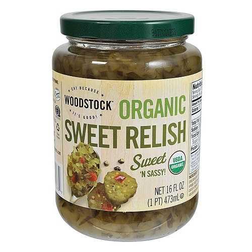 Woodstock Sweet Relish (12x16 Oz)