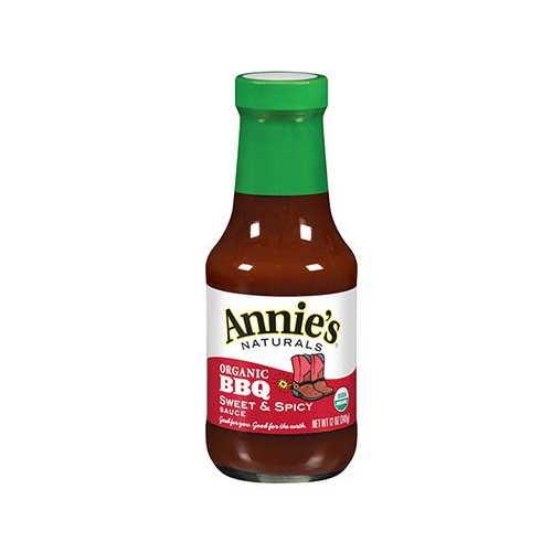 Annie's Naturals Sweet & Spicy Bbq Sauce (12x12 Oz)