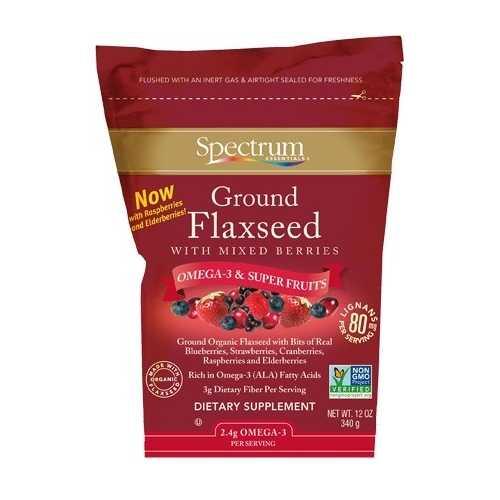 Spectrum Ground Flax With Berries ( 1x12 Oz)