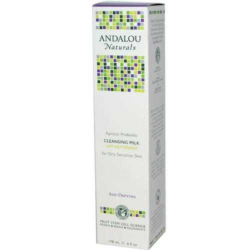 Andalou Naturals Apricot Probiotic Cleansing Milk (1x6 Oz)
