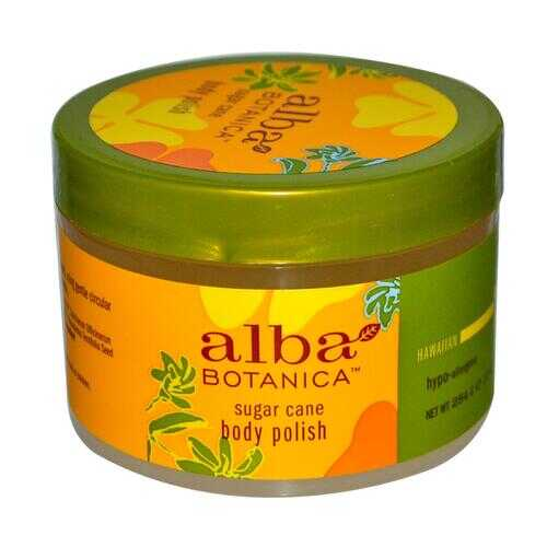 Alba Botanica Sugar Cane Body Polish (1x10 Oz)