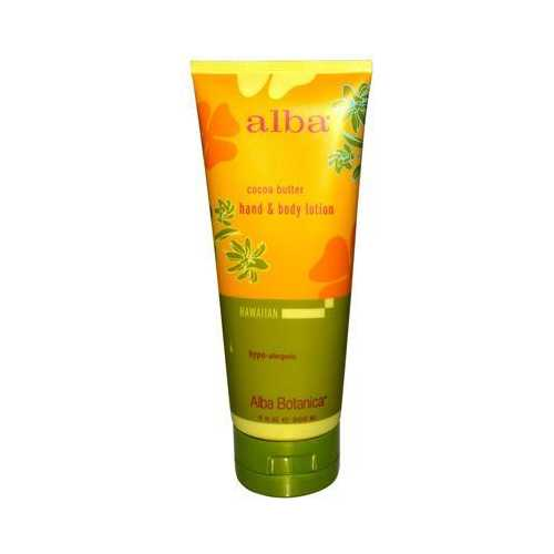 Alba Botanica Cocoa Butter Hand & Body Lotion (1x7 Oz)