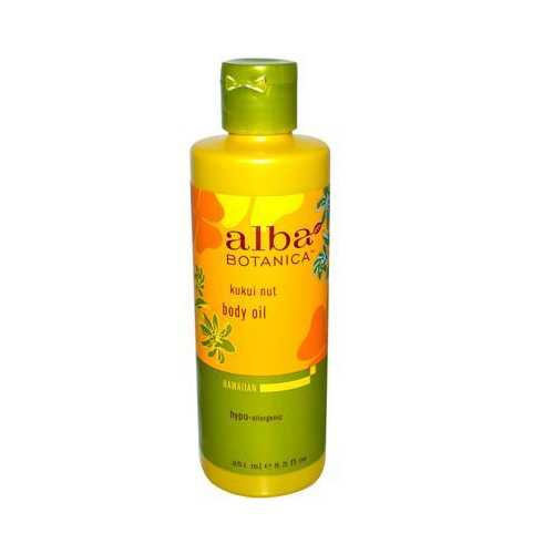 Alba Botanica Kukui Nut Massage Oil (1x8.5 Oz)