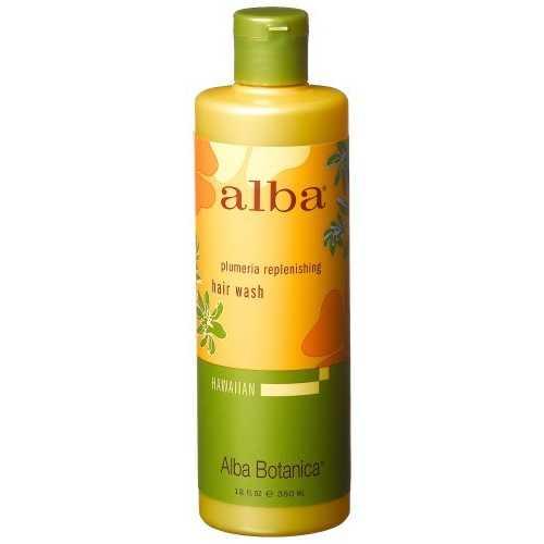 Alba Botanica Plumeria Replenish Shampoo (1x12 Oz)