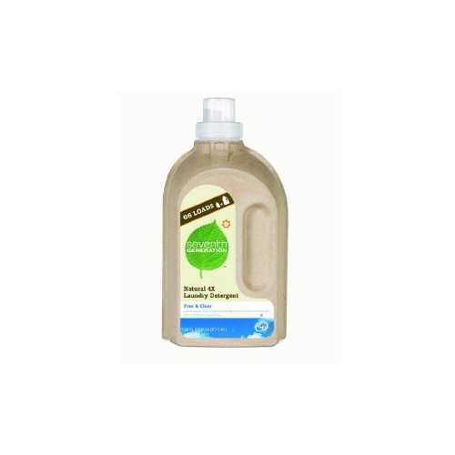 Seventh Generation Liquid Laundry, 4X Free & Clear (6x50 Oz)
