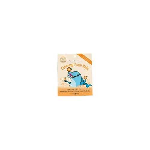 Aura Cacia Kids Cheering Foam Bath (6x2.5 Oz)