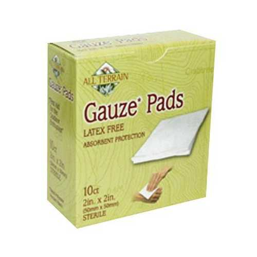 "All Terrain Gauze Pads 2"" X 2"" (1x10 PC)"