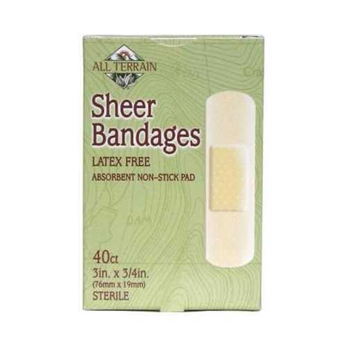 "All Terrain Sheer Bandage 3x4"" X 3"" (1x40 PC)"