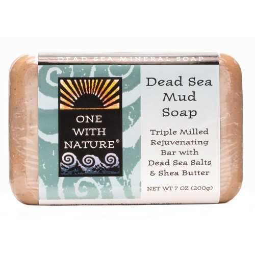 One With Nature Dead Sea Mud Soap (7Oz)