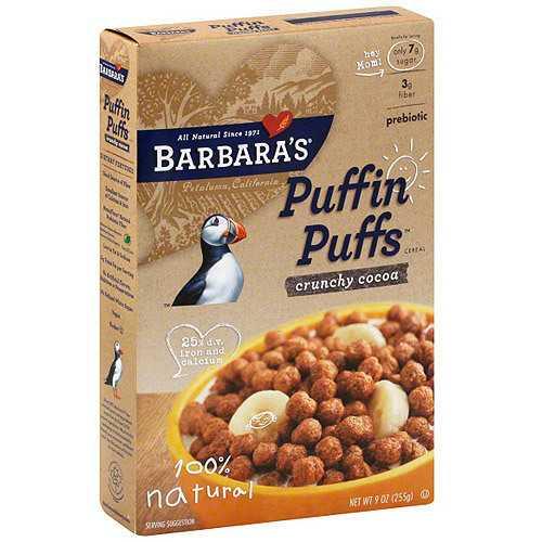 Barbara's Crunchy Corn Puffins (12x12 Oz)