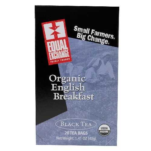 Equal Exchange Black, English Breakfast Tea (6x20 Bag)