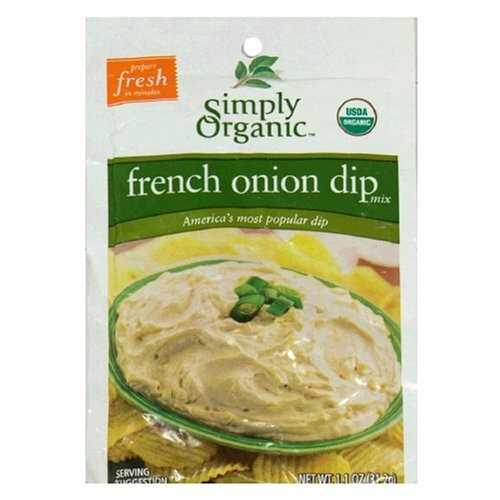 Simply Organic French Onion Dip (12x1.1 Oz)