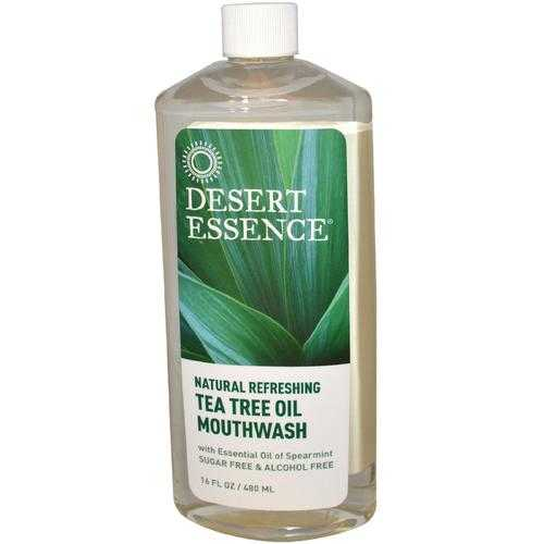 Desert Essence Tea Tree Oil Mouthwash (1x16 Oz)