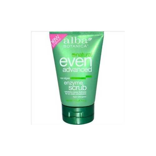 Alba Botanica Sea Enzyme Facial Scrub (1x4 Oz)