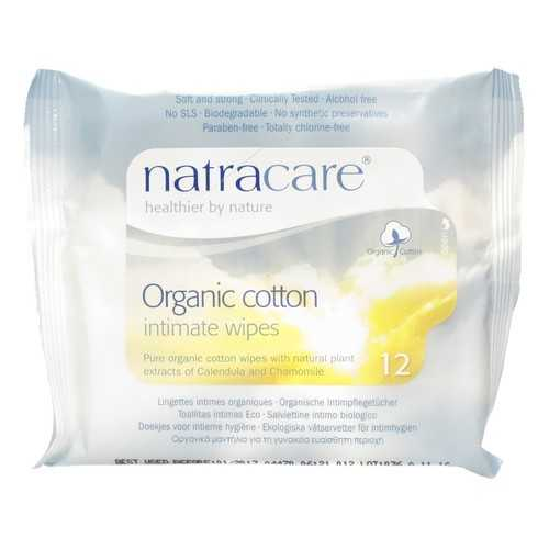 Natracare Intimate Cotton Wipes (12x12 CT)