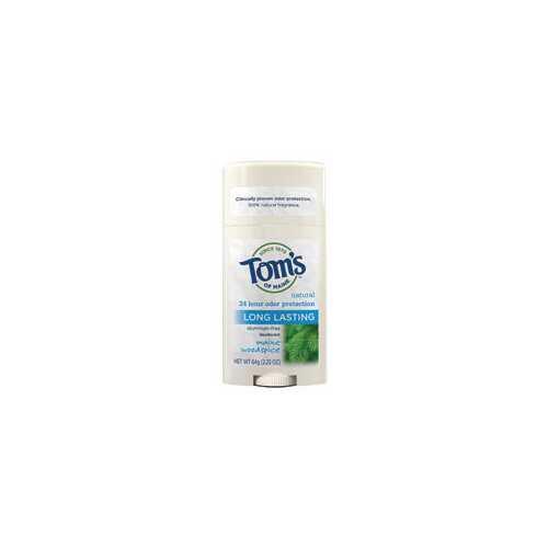 Tom's Of Maine Woodspice Natural Deodorant Stick (6x2.25 Oz)