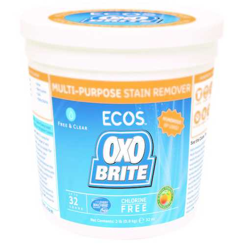 Earth Friendly Oxo Brite (8x2 LB)