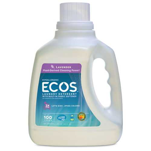 Earth Friendly Ecos Lavender Ultra Liquid Detergent (4x100 Oz)