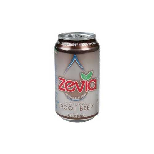 Zevia Natural Root Beer Diet Soda (4x6x12 Oz)