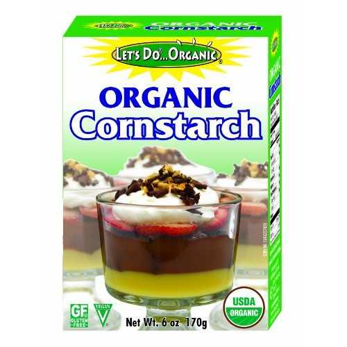 Let's Do...Organics CornStarch ( 6x6 Oz)