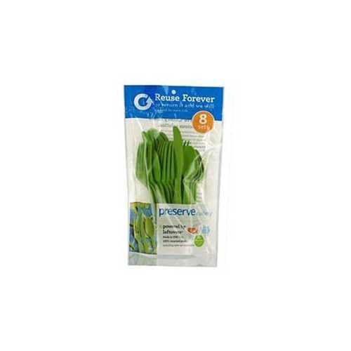Preserve Apple Green Cutlery (12x24 CT)
