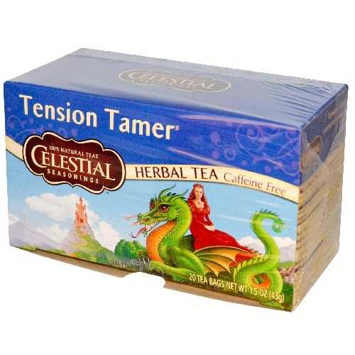 Celestial Seasonings Tension Tamer Herb Tea (6x20 bag)