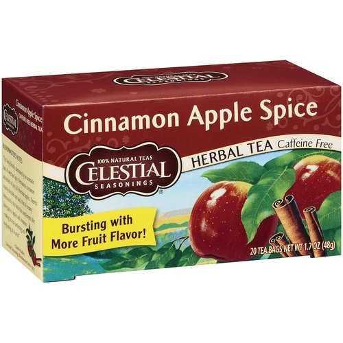 Celestial Seasonings Cinnamon Apple Spice Herb Tea (6x20bag)