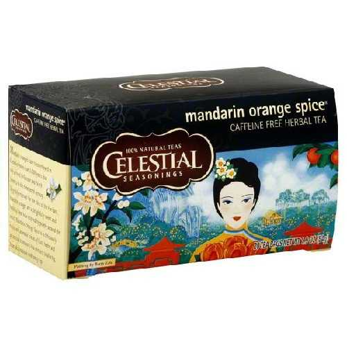 Celestial Seasonings Mandarin Orange Spice Herb Tea (6x20bag)