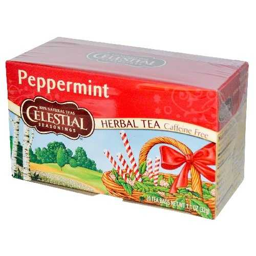 Celestial Seasonings Peppermint Herb Tea (6x20bag)