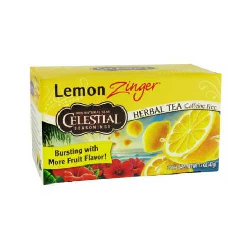 Celestial Seasonings Lemon Zinger Herb Tea (6x20bag)