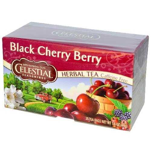 Celectial Seasonings Black Cherry Herb Tea (6x20bag)