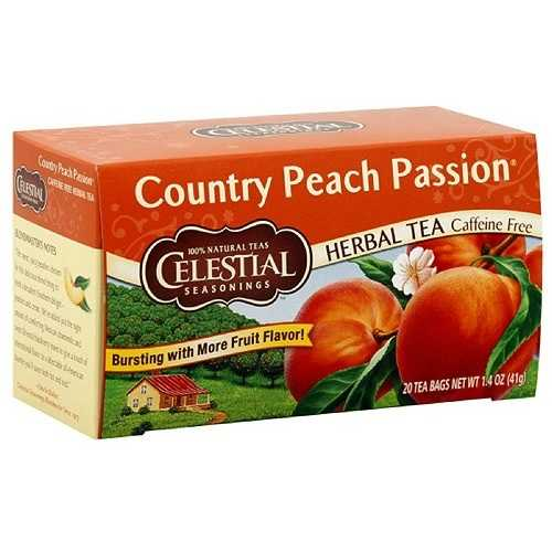 Celestial Seasonings Country Peach Passion Herb Tea (6x20bag)