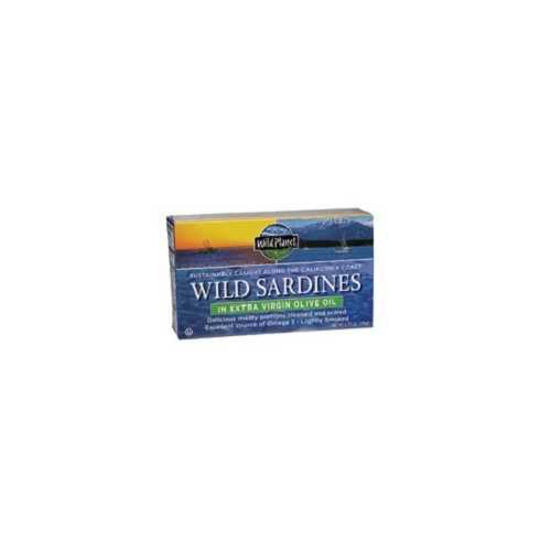 Wild Planet Wild Sardines in EVOO (12x4.375 Oz)
