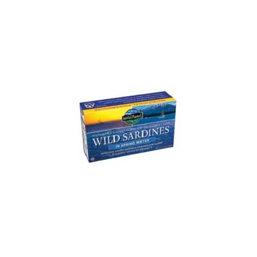 Wild Planet Wild Sardines in Spring Water (12x4.375 Oz)