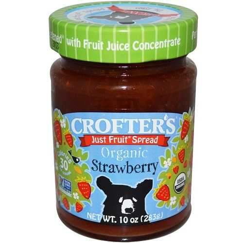 Crofters Strawberry Fruit Spread (6x10 Oz)