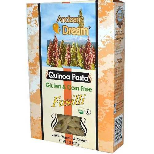 Andean Dream Fusilli Quinoa Pasta Gluten Free (12x8 Oz)