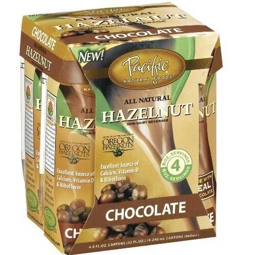 Pacific Natural Hazelnut Chocolate Non Dairy Beverage (6x4x8 Oz)