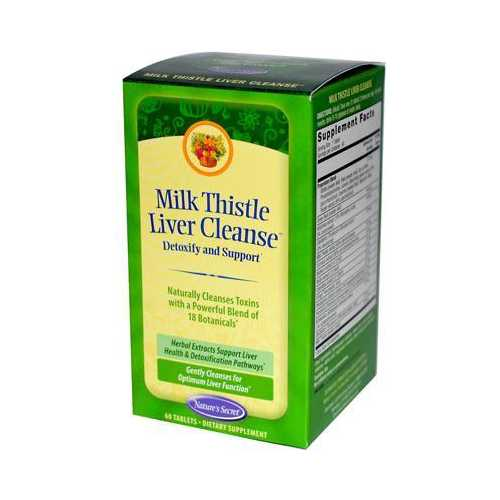 Nature's Secret Milk Thistle Liver Clean (1x60 TAB)