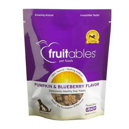 Fruitables Pumpkin & Blueberry Mix Dog Treats (8x7 Oz)