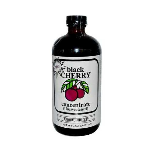 Nature's Source Black Cherry Concentrate (1x16 Oz)