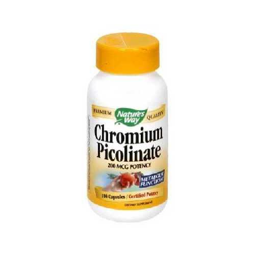 Nature's Way Chrom Picolinate (1x100CAP )