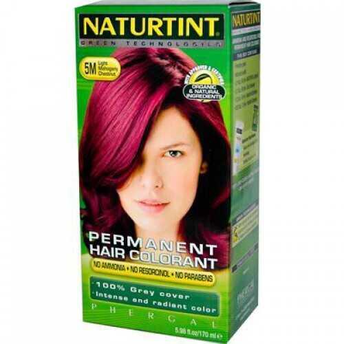 Naturtint 5m Light Mahogany Chestnut Hair Color (1xKit)