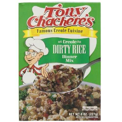Tony Chachere's Dirty Rice Mix (12x8 Oz)