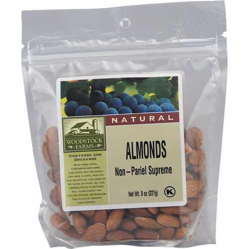 Woodstock Organic Almonds (8x7.5 Oz)