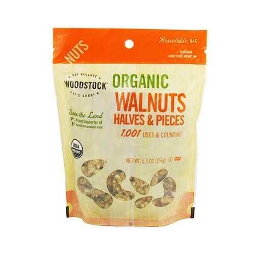 Woodstock Organic Walnut Havles and Pieces (8x5.5 Oz)