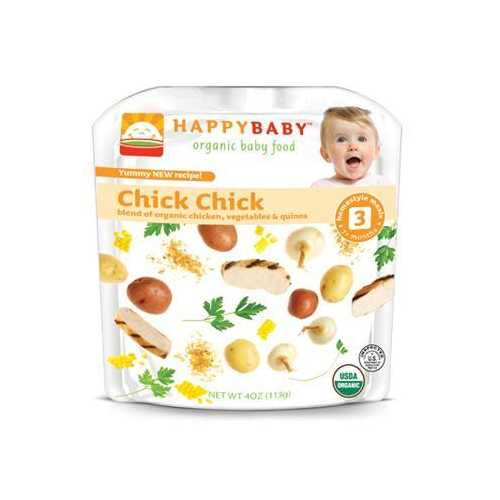 Happy Baby Organic Chick Chick Stage 3 (16x4 Oz)